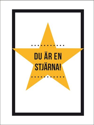 Du är en stjärna!