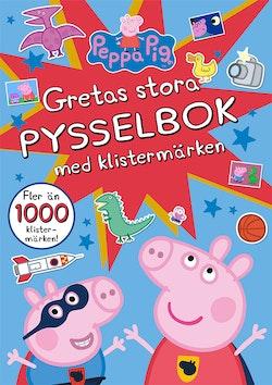 Gretas stora pysselbok med klistermärken