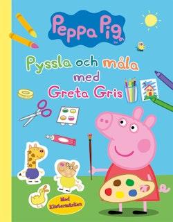 Pyssla och måla med Greta Gris