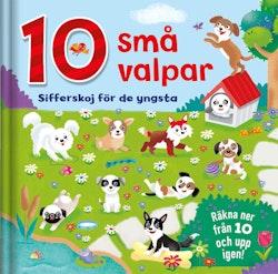 10 små valpar: sifferskoj för de yngsta