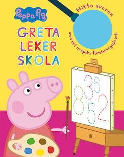 Greta leker skola : hitta svaren med det magiska förstoringsglaset!