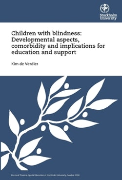 Children with blindness : developmental aspects, comorbidity and implications for education and support