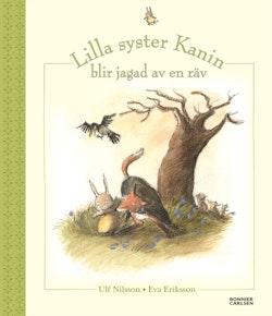Lilla syster Kanin blir jagad av en räv