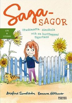 Sagasagor. Studsmatta, simskola och en borttappad tigertass  (e-bok + ljud)