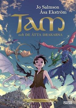Tam och de åtta drakarna (Drakriddare, bok 1-3)