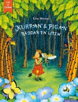 Kurran och Pigan räddar en liten (e-bok + ljud)