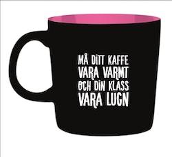 Kaffemugg - Må ditt kaffe vara varmt och din klass vara lugn