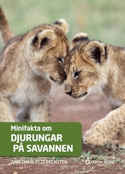 Minifakta om djurungar på savannen