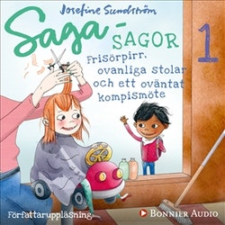 Bananbus, finskor och en superjobbig superhjälte. Kap 1, Frisörpirr, ovanliga stolar och ett oväntat kompismöte