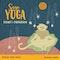 Sagoyoga. Lugnet i universum : övningar för barn i meditation