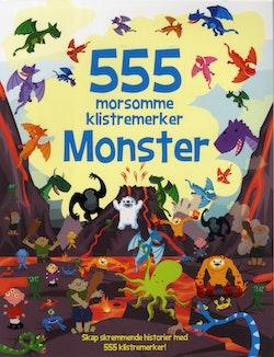 555 morsomme klistremerker. Monster