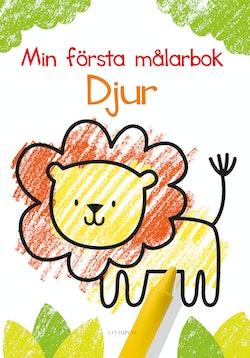 Min första målarbok: Djur