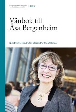 Vänbok till Åsa Bergenheim