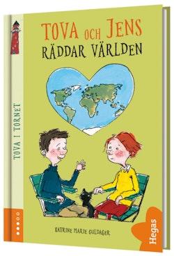 Tova och Jens räddar världen (bok + CD)