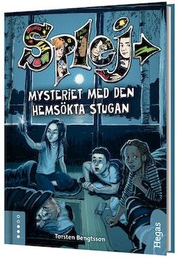 Mysteriet med den hemsökta stugan (bok + CD)