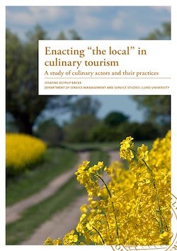 Enacting 'the local' in culinary tourism