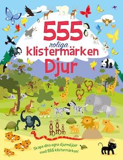555 roliga klistermärken - Djur