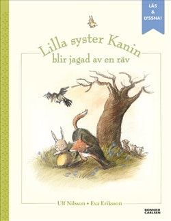 När lilla syster Kanin blev jagad av en räv (e-bok + ljud)