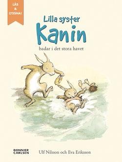 När lilla syster Kanin badade i det stora havet (e-bok + ljud)