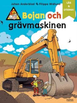 Bojan och grävmaskinen (e-bok + ljud)