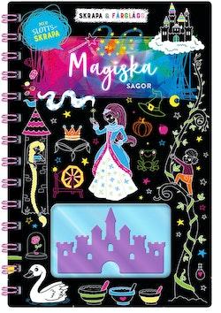 Skrapa & färglägg : magiska sagor