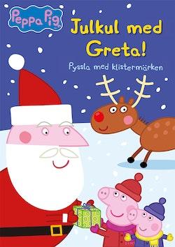 Julkul med Greta! : pyssla med klistermärken