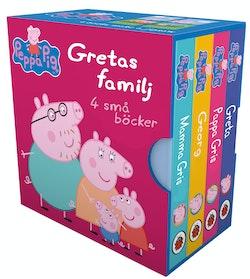 Gretas familj 4 små böcker