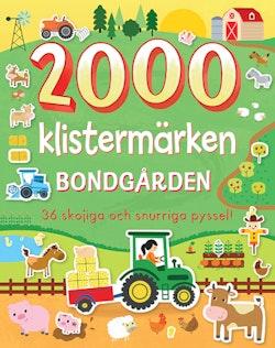2000 klistermärken bondgården: 36 skojiga och snurriga pyssel