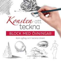 Konsten att teckna: block med övningar