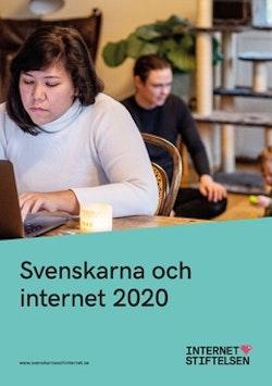 Svenskarna och internet 2020 : undersökning om svenskarnas internetvanor