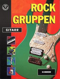 Rockgruppen gitarr