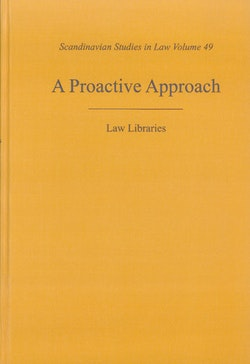 A proactive approach : law libraries