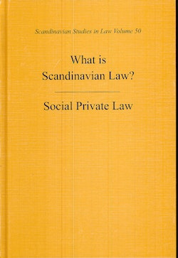 What is Scandinavian Law? Social Private Law