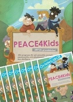 PEACE4kids - ART för grundskolan (klassuppsättning 1+10)