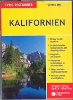 Kalifornien (med karta)