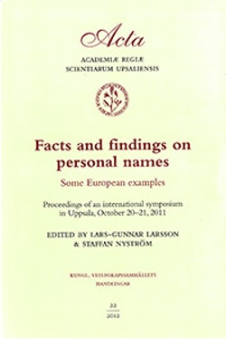 Facts and findings on personal names : some European examples