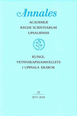 Kungl. Vetenskapssamhällets i Uppsala årsbok 42/2017-2018