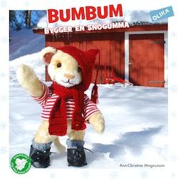 Bumbum bygger en snögumma