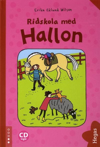 Ridskola med Hallon (bok + CD)