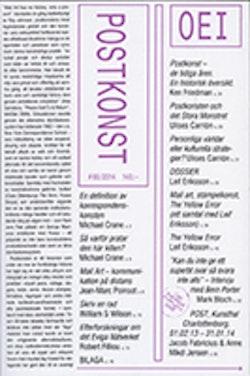 OEI # 65 Postkonst / Mail art