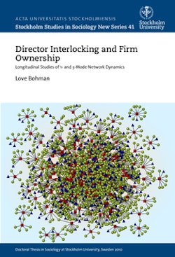 Director interlocking and firm ownership : longitudinal studies of 1- and 3-mode network dynamics