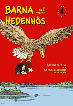 Barna Hedenhös 4, Kurre lär sej flyga och hur familjen Hedenhös fick en katt