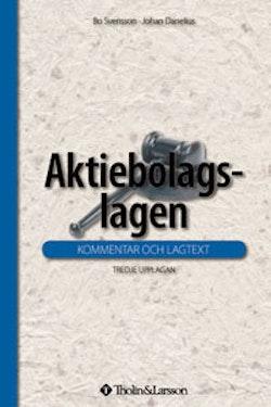 Aktiebolagslagen : kommentar och lagtext