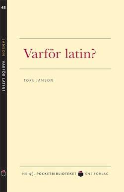Varför latin?