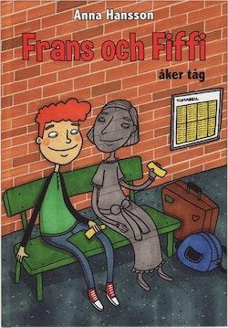 Frans och Fiffi åker tåg