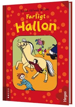 Farligt Hallon (bok + CD)