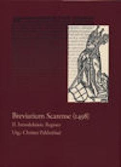 Register till Breviarium Scarense 1498
