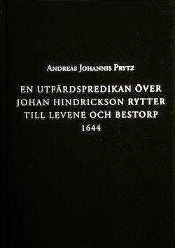 En utfärdspredikan över Johan Hindrickson Rytter till Levene och Bestorp 1644