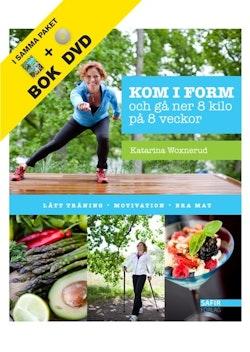 Kom i form (kartong med bok + dvd)