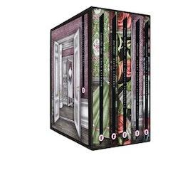 Uppväxtklassiker (box). Alice i underlandet ; Den hemliga trädgården ; Pappa Långben ; Unga kvinnor ; Agnes Cecila : en sällsam historia